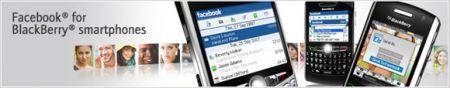 Facebook 1.5 per BlackBerry si aggiorna alla versione 1.5.0.32
