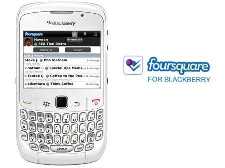 Foursquare per BlackBerry: aggiornamento alla versione 1.7