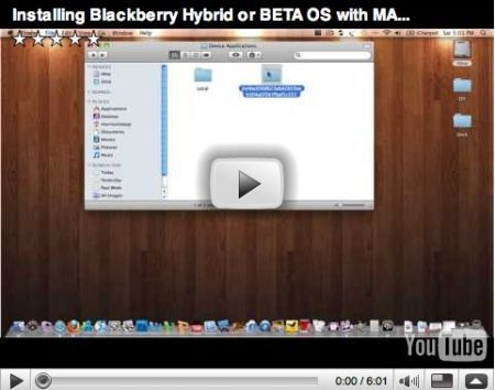 Come installare un firmware beta con BlackBerry Desktop Manager per Mac
