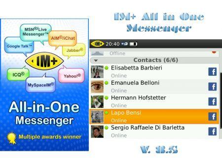 IM+ All In One Messenger si aggiorna alla v. 8.5 con una nuova grafica
