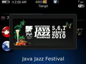 Segui il Java Jazz Festival 2010 dal tuo BlackBerry