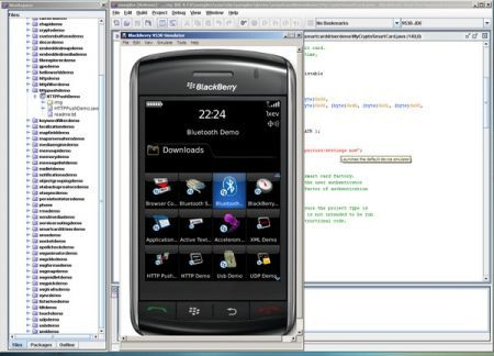 Rim presenta BlackBerry Java SDK 1.1