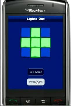 Lights out: Un gioco gratuito per BlackBerry Storm