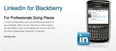 LinedkIn per BlackBerry