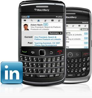 LinkedIn per BlackBerry 1.0.1: aggiunto il supporto al BIS