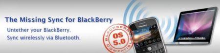 Missing Sync per BlackBerry: sincronizzazione tra MAC e BlackBerry ora possibile anche con firmware 5.0