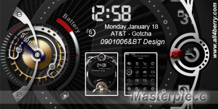 Masterpiece: Nuovo tema per palmari Rim BlackBerry con una grafica fantastica