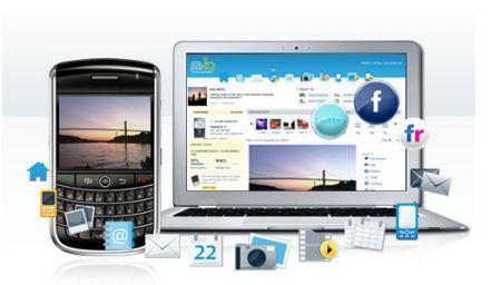 Sincronizza il PC, il Mac ed il BlackBerry con il servizio M:IQ