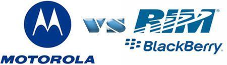 Motorola presenta un reclamo contro RIM tramite l'International Trade Commission