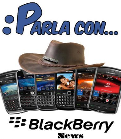 Facebook: Parla con&#8230; BlackBerry News