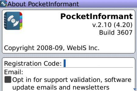 Pocket Informant 2.0: Il miglior PIM per i palmari Rim BlackBerry