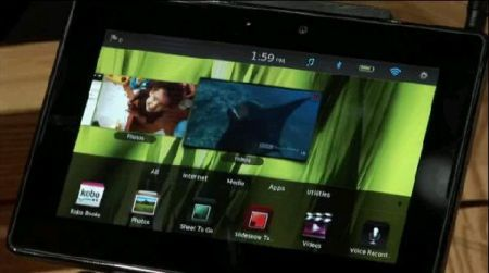 Rumors: BlackBerry PlayBook potrebbe eseguire applicazioni android