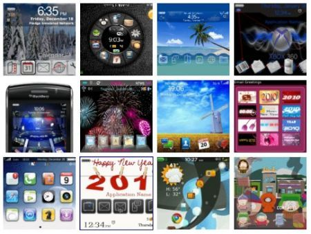 Nuovi temi BlackBerry nello Store