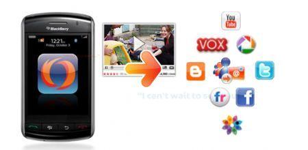 MWC 2010: Presentazione di ShoZu per palmari Rim BlackBerry