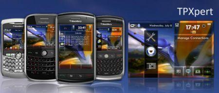 TPXpert: Tema premium per BlackBerry