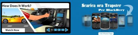Trapster: il rilevatore di autovelox per palmari Rim BlackBerry si aggiorna alla versione 3.6