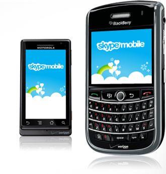 Skype Mobile su BlackBerry! Non per noi però, solo per gli utenti dell'operatore Verizon