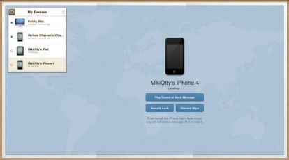 Find My Phone cambia look su iCloud