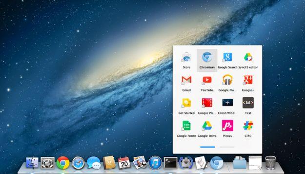 Chrome app arrivano su mac