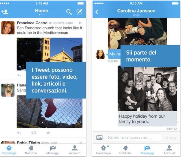 Twitter per iPhone si rinnova tutte le novita