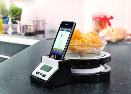 Regali di Natale 2011: Ade Joy, la bilancia da cucina con dock incorporato