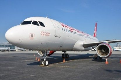 Virgin America onora Steve Jobs con l&#8217;airbus A320