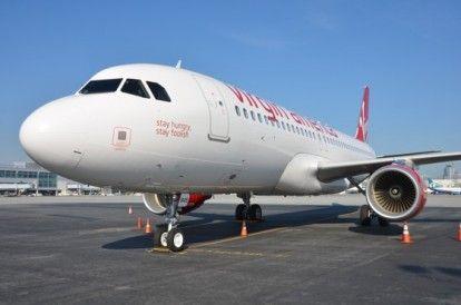 Virgin America onora Steve Jobs con l'airbus A320