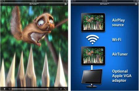 AirTuner: AirPlay HD per iPhone e iPad