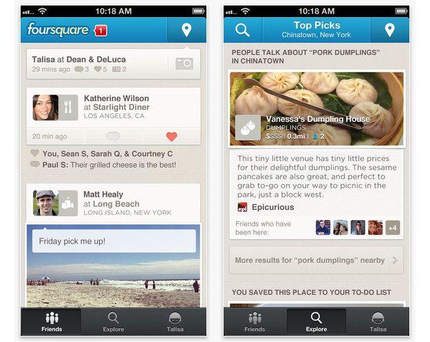 Apple Mappe: Foursquare per migliorarle?