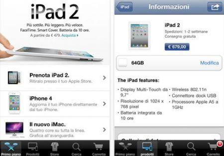L'app Apple Store arriva in Italia: prenotazione prodotti e Genius Bar