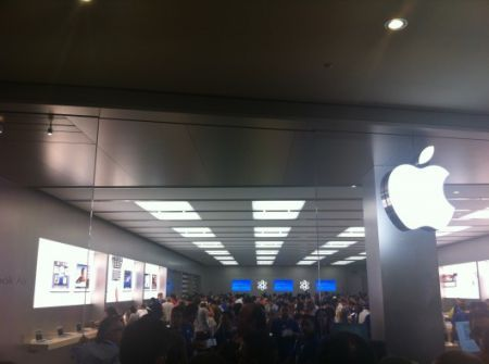 Apple store campania a marcianise aperto ufficialmente il for Apple store campania