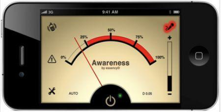 Awarness per iPhone screenshot