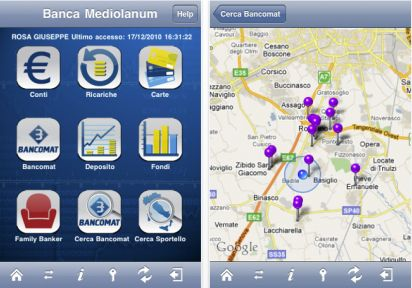 Banca Mediolanum per iPhone