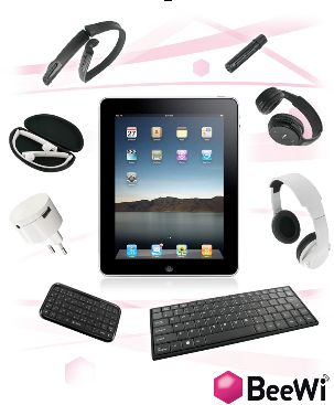 iPad 2, ecco la nuova gamma di accessori realizzata da BeeWi