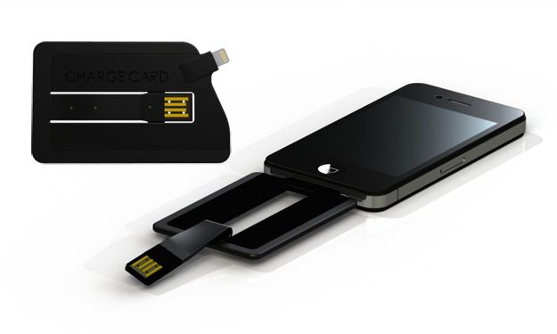 ChargeCard, caricabatterie tascabile per iPhone e iPad [VIDEO]