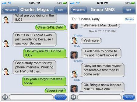 ChatPic, ecco come vedere le icone dei contatti nell'app Messaggi