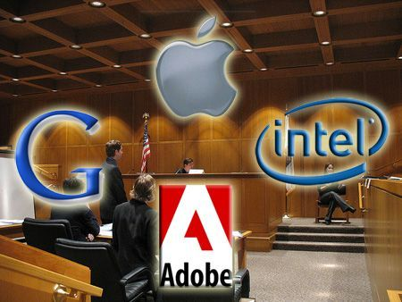 Apple, Google, Intel e Adobe, parte una nuova class action nei loro confronti