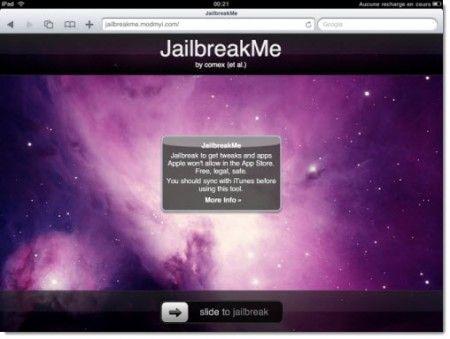 Guida Jailbreak iPad 2: ecco come sbloccare con JailbreakMe 3.0