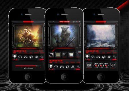 Darkstar, un tema per iPhone degno di Guerre Stellari