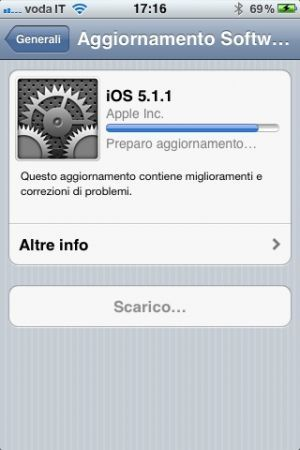 iOS 5.1.1 disponibile per il download, ma niente Siri in italiano