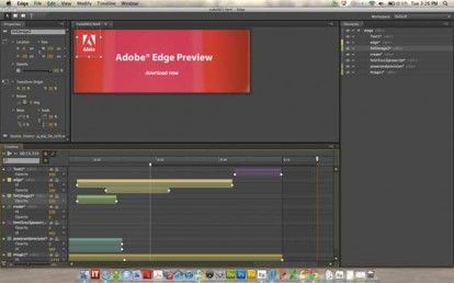 Animazioni Flash su iPhone, Adobe presenta Adobe EDGE