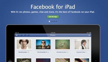 Facebook per iPad finalmente disponibile in App Store