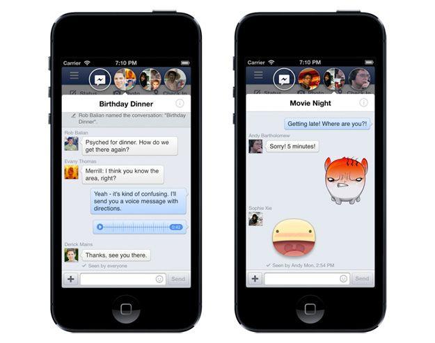 Facebook su iPhone si aggiorna e forse si prepara a Home