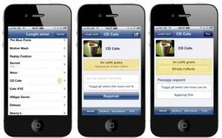 Facebook Deals, la funzione