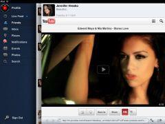 FacePad+ Un nuovo client di FaceBook per iPad