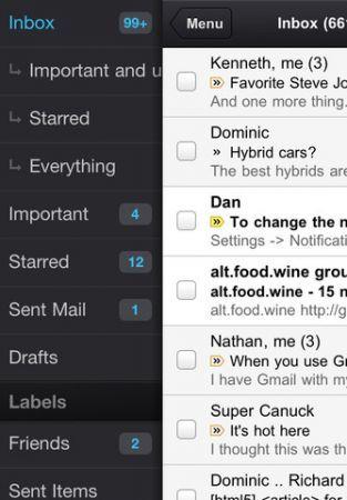 Google Gmail, l'app ufficiale torna disponibile nell'App Store