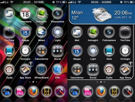 Tema iPhone G.O.C. HD