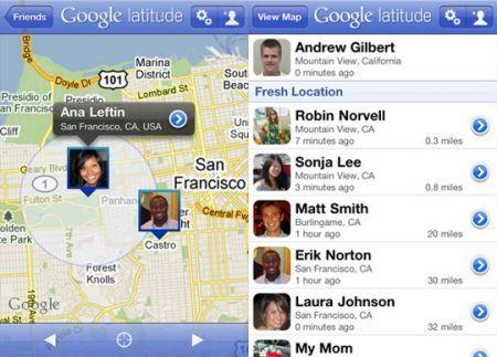 Google Latitude per iPhone arriva in App Store