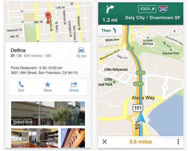 Google Maps per iPhone, primo aggiornamento disponibile