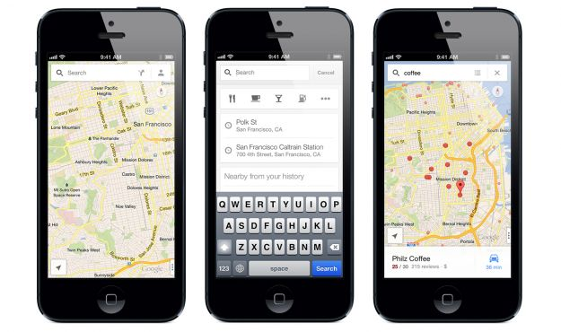 google maps ios iPhone iPad rinnova